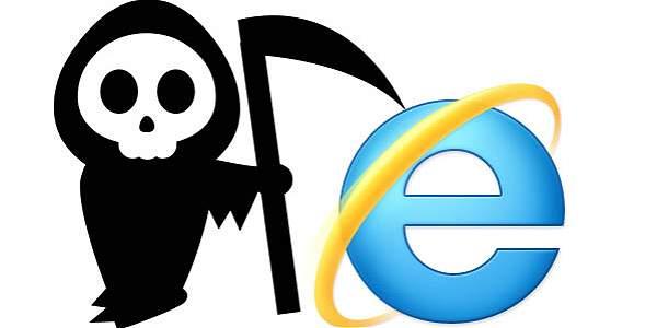 Navegador Internet Explorer de Microsoft desaparece