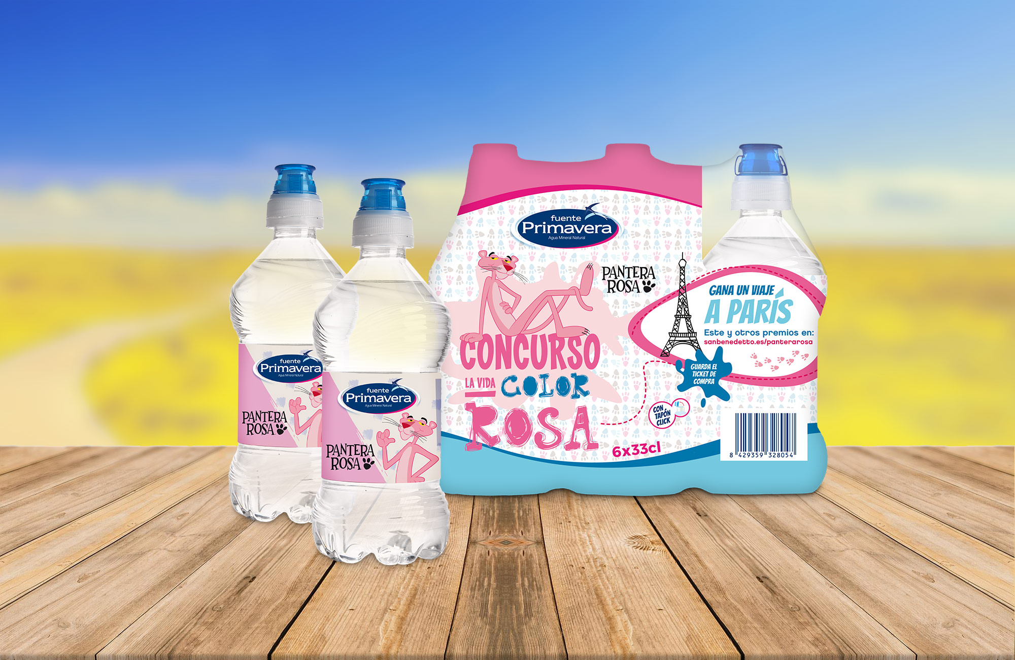 San Benedetto: Packaging